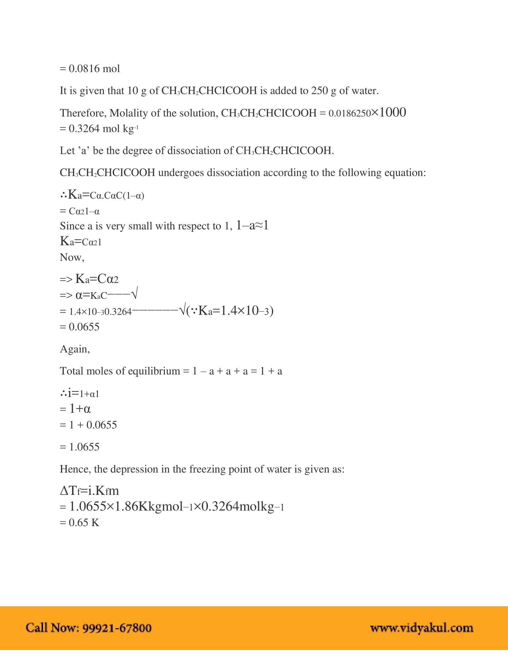 Ncert Solution Class 12 Chemistry Chapter 2 Vidyakul