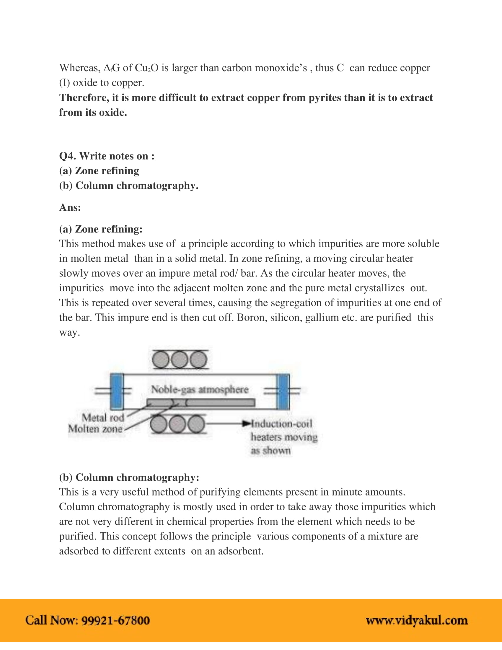 NCERT Solution Class 12 Chemistry Chapter 6 | Vidyakul