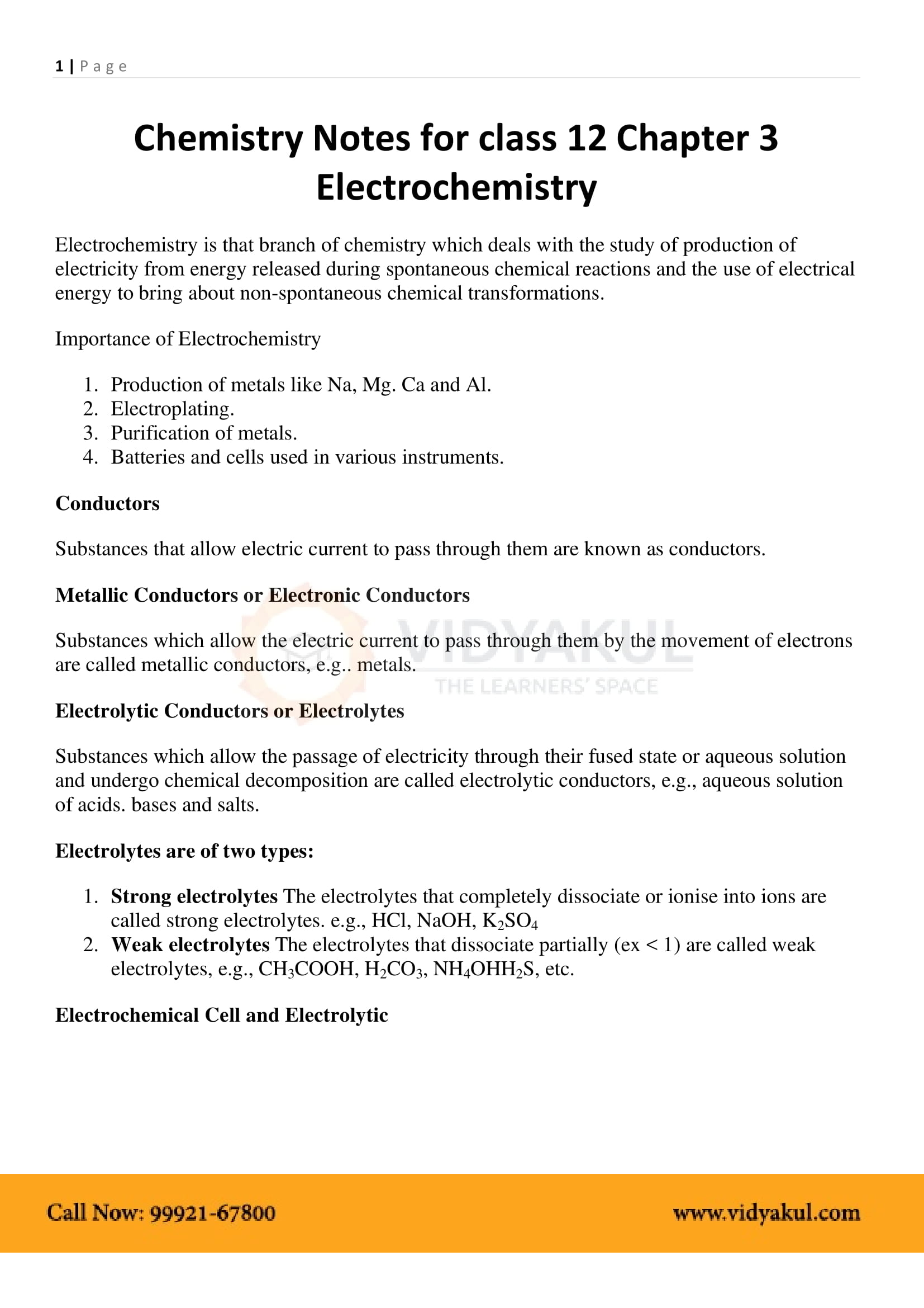 2nd Puc Chemistry Notes Pdf