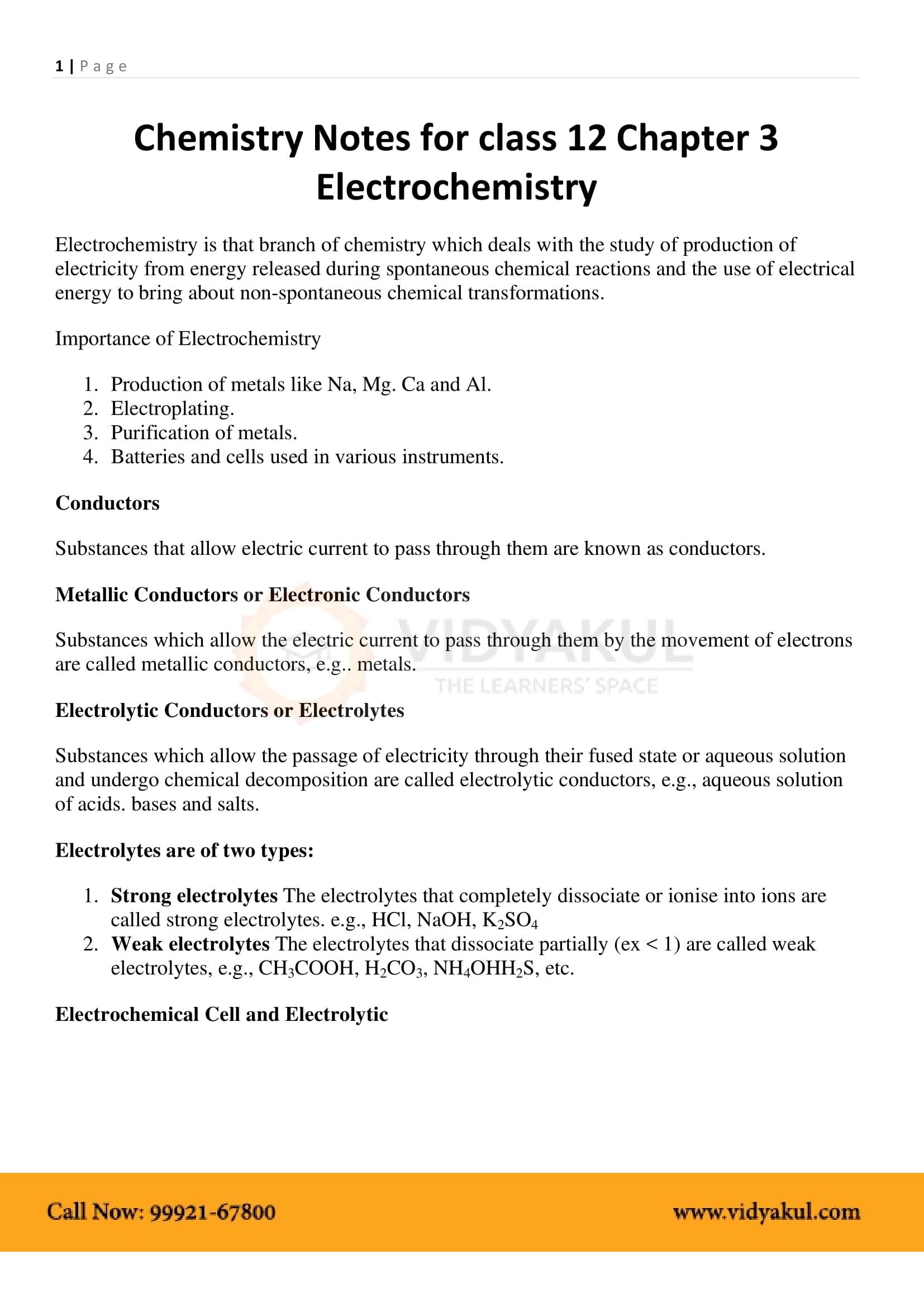 💄 Chemistry class 12 notes pdf punjab board | 12th Class Chemistry