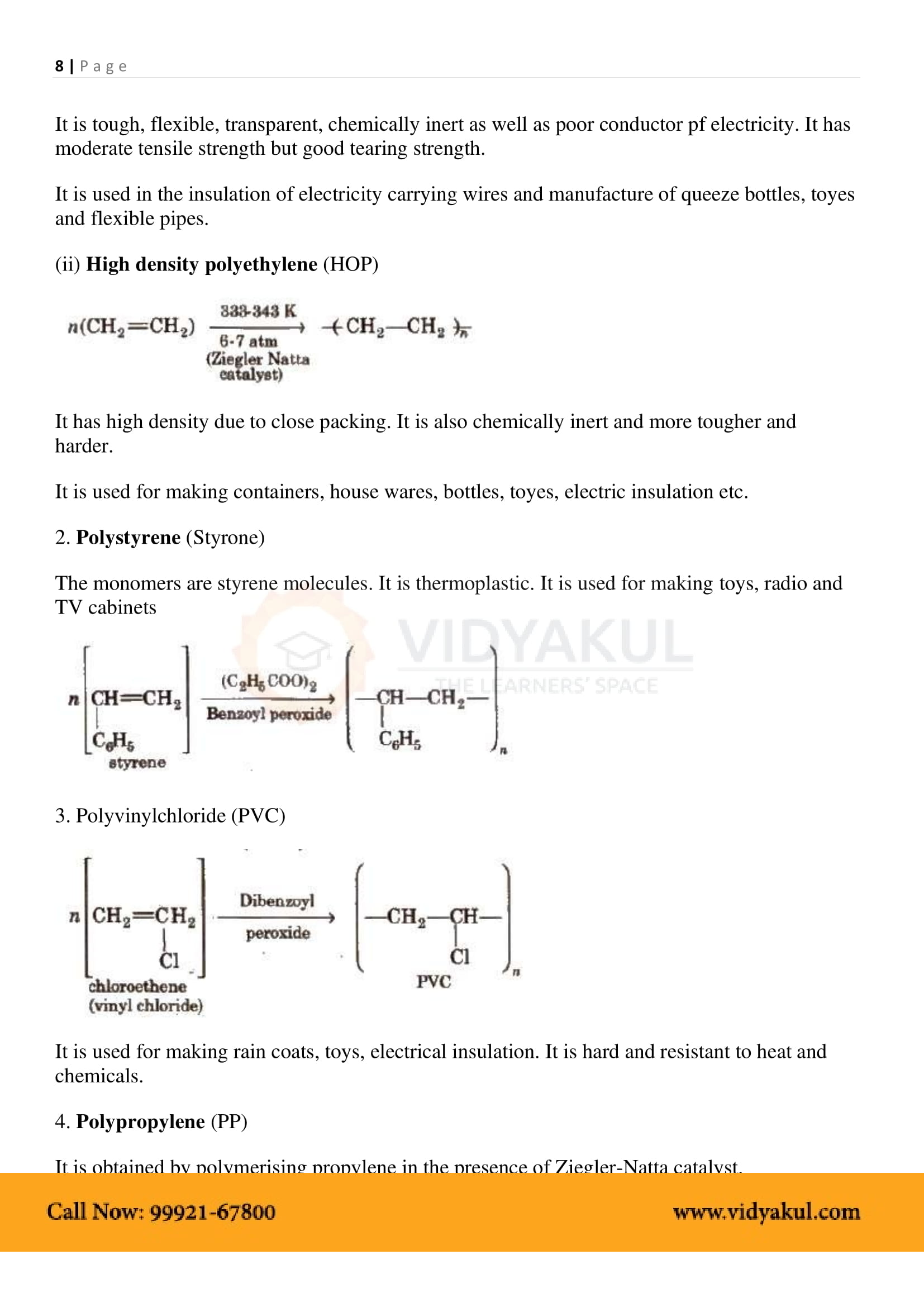 Chemistry class 12 chapter 8 notes pdf | NCERT Solutions