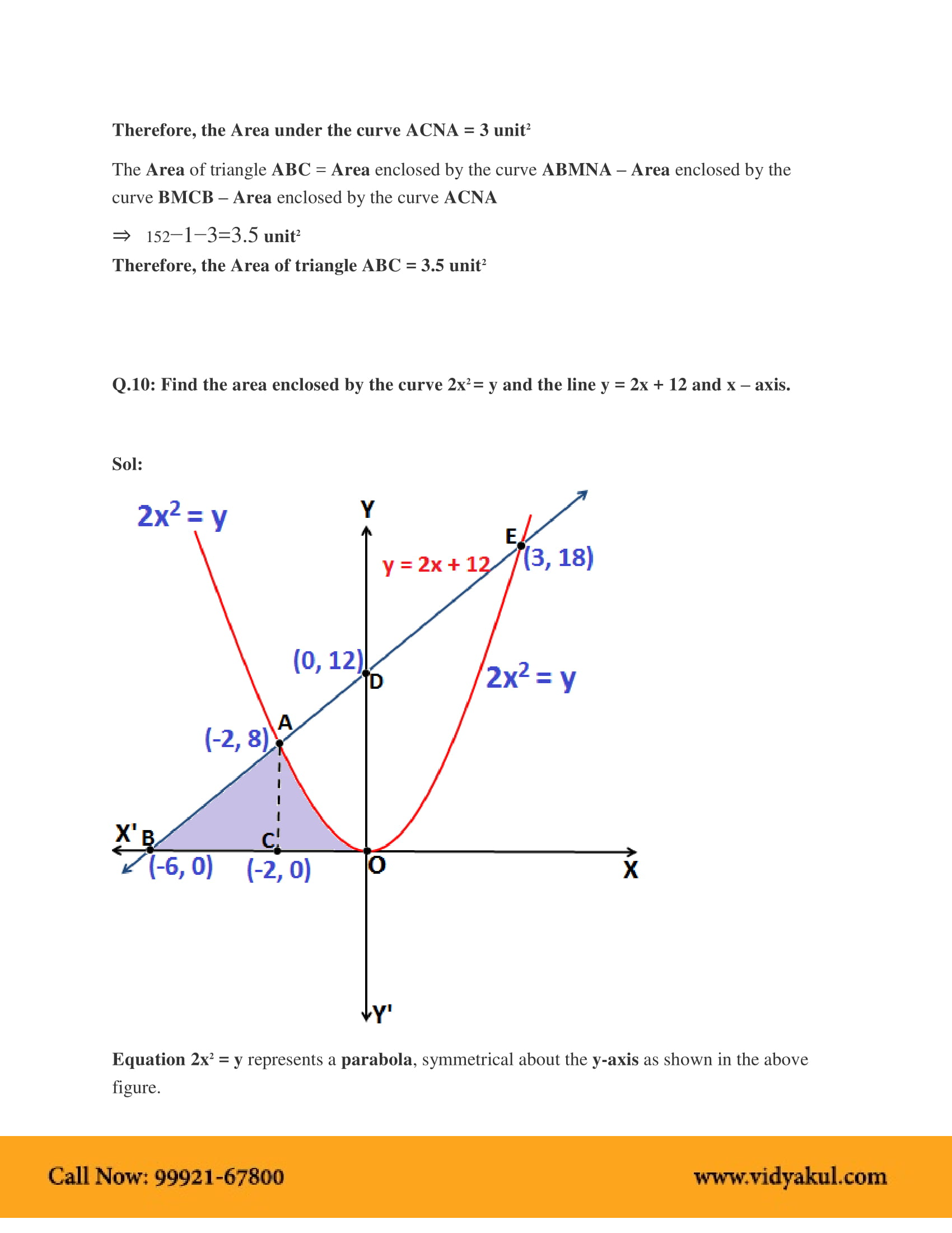 NCERT Solutions for Class 12 Maths Chapter 8 | Vidyakul