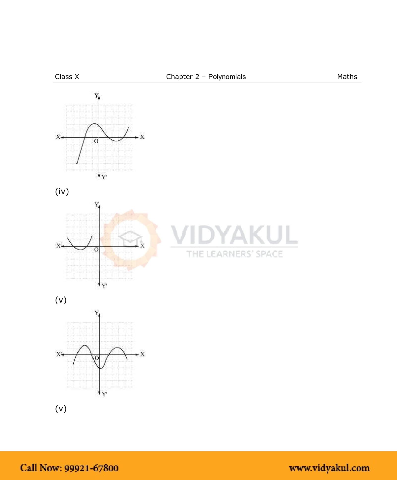 NCERT Solutions For Class 10 Maths Chapter 2 | Vidyakul