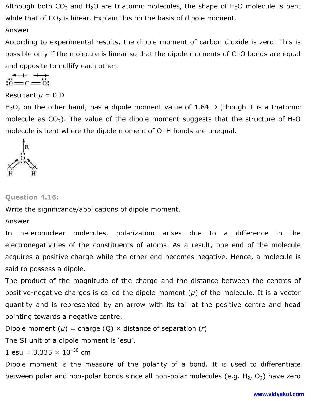 NCERT Solutions Class 11 Chemistry Chapter 4 | Vidyakul