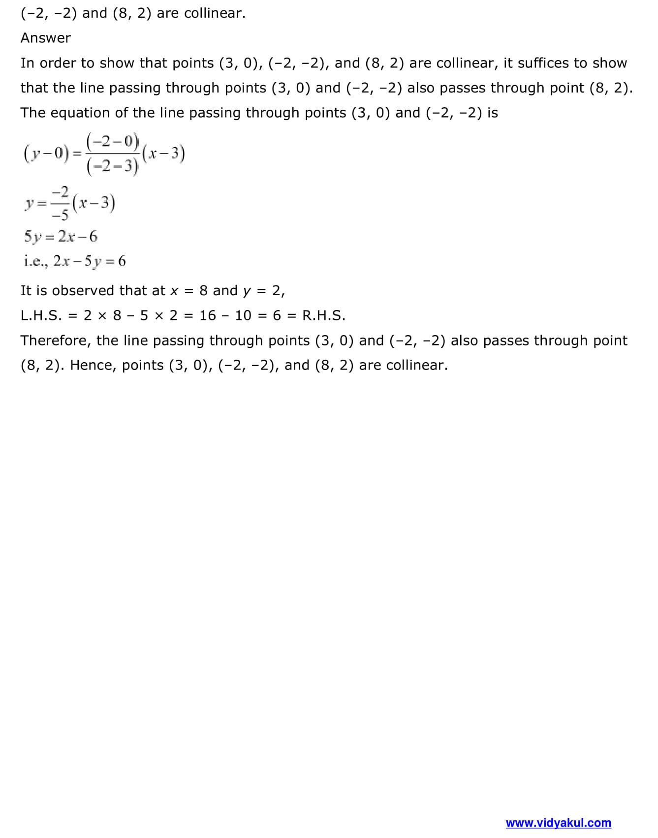 NCERT Solutions Class 11 Maths Chapter 10 | Vidyakul