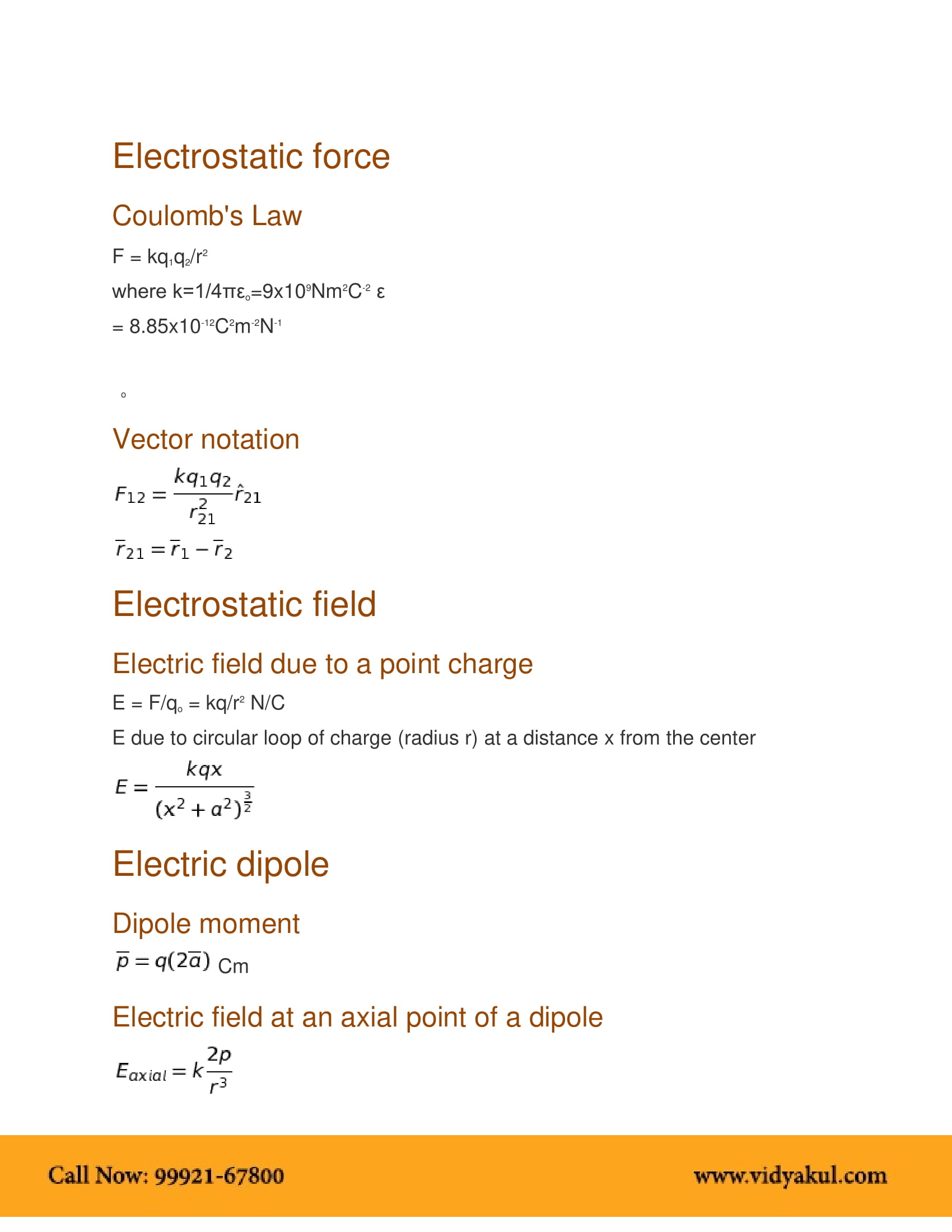 Electric Potential Pdf