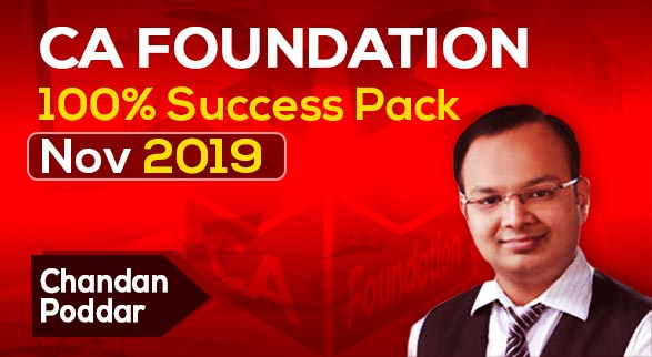 CA Foundation 100% Success Pack Nov 2019