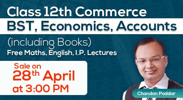 Class 12th Commerce (BST, Eco, Acc) with Books By Chandan Sir