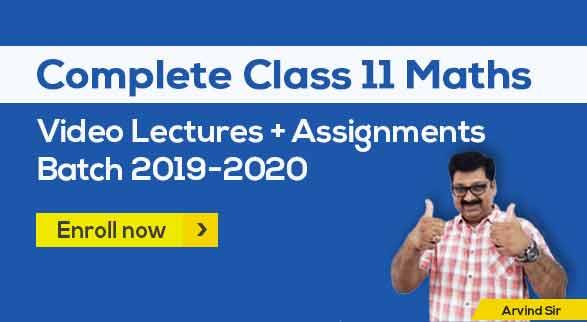 11th Maths Batch 2019-2020 by Arvind Sir