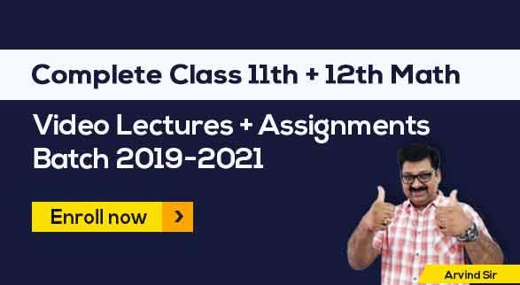11th & 12th Maths Batch 2019-2021 by Arvind Sir