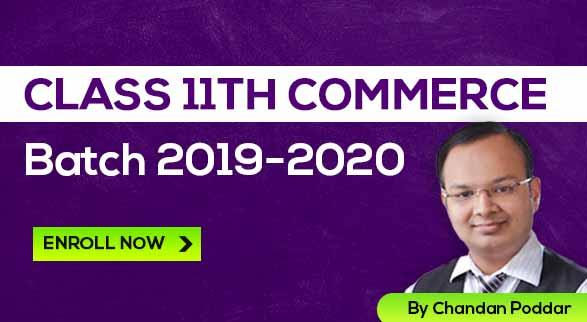 Class 11th Commerce Guru Batch 2019-2020